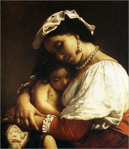 1833-1923 bonnat léon italienne