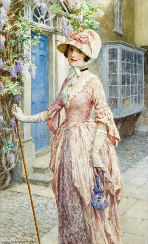 A LADY OF QUALITY williamHenryMargetson