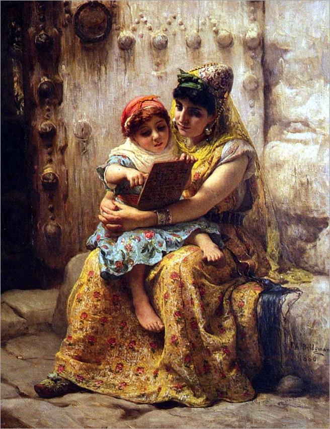 Bridgman_Frederick_Arthur_The_Reading_Lesson (2)