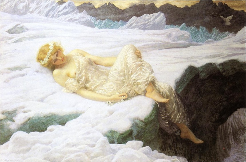 Edward Robert Hughes - `Heart of snow´