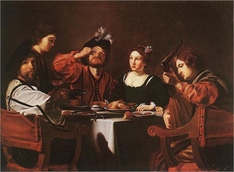 merry_company-Nicolas Tournier(1590-1638)