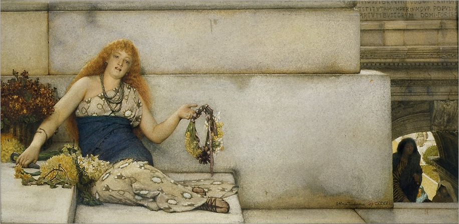 sir_lawrence_alma_tadema_on_the_steps_of_the_capitol (2)