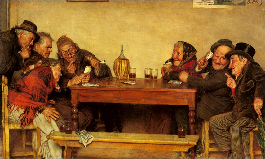 The Card Game (Pic 1)-gaetano-bellei