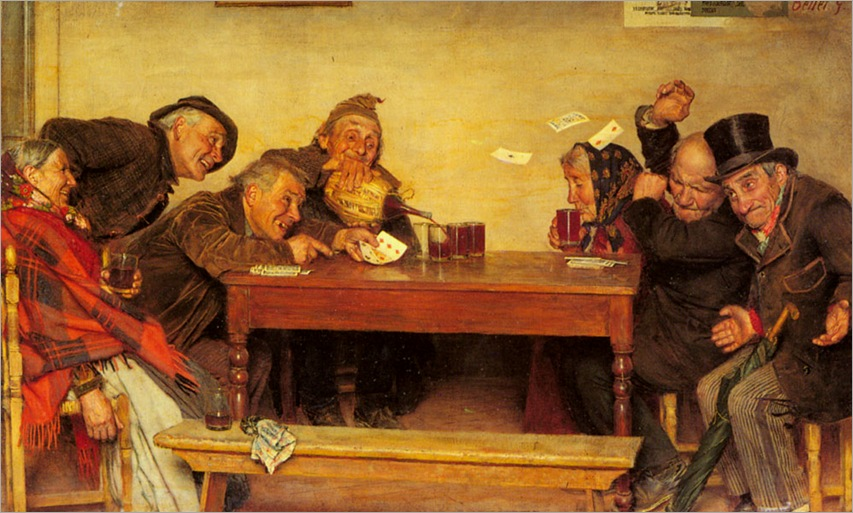 The Card Game (Pic 2)-gaetano-bellei