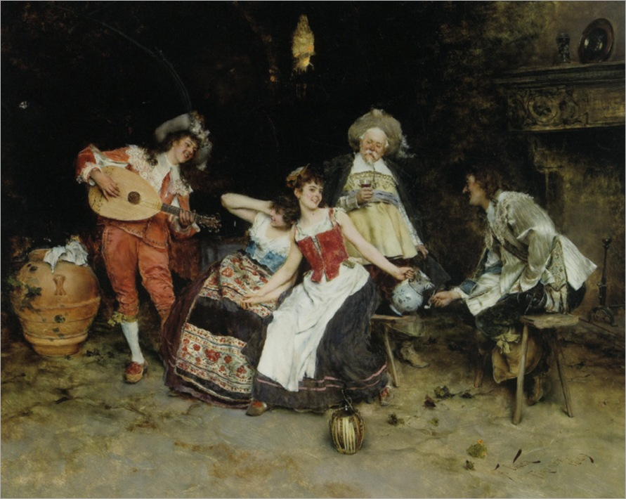 Vinea_Francesco_In_The_Wine_Cellar_1889