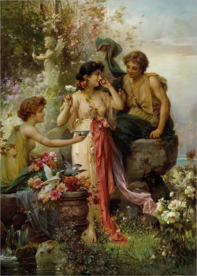 Zatzka_Hans_The_Love_Offering_Oil_on_Canvas-large