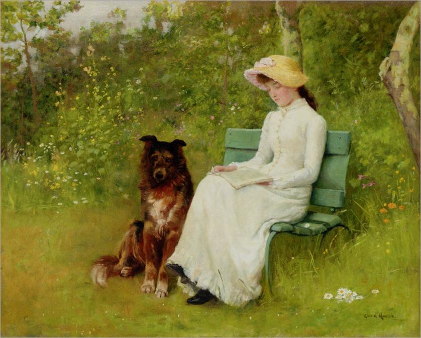 a_quiet_read-EdwinHarris