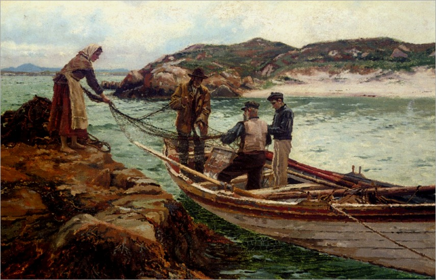 Bartlett_William_Henry_Landing_The_Catch_1902