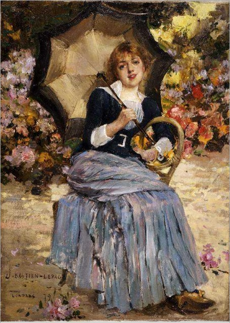Bastien-Lepage_Jules-Girl_with_a_sunshade