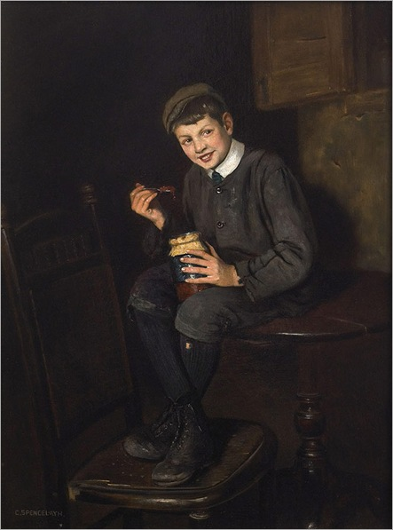 Charles-Spencelayh-jam-pot