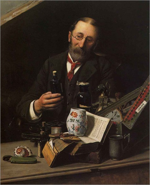 charles-spencelayh-the-collector