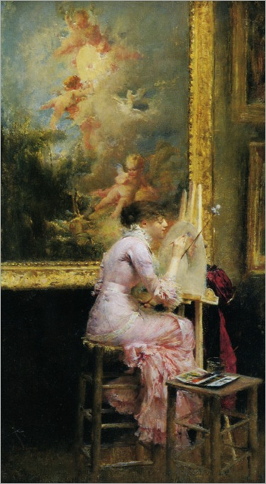 Dagnan_Bouveret_Pascal_Adolphe_Jean_Lartistic_Musee_1881