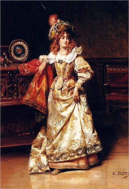 Detti-Cesare-Auguste-Waiting-For-Her-Escort