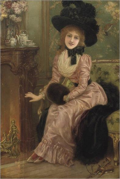 Eisman_Semenowsky_(1857-1911)_-_Warming_by_the_fire
