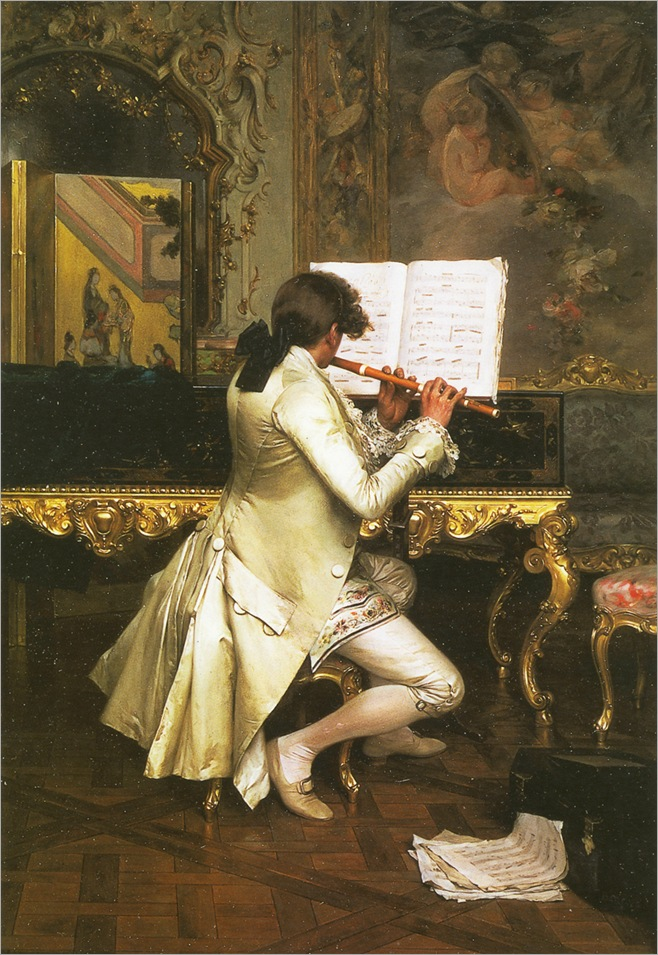 flute player-charles-bargue