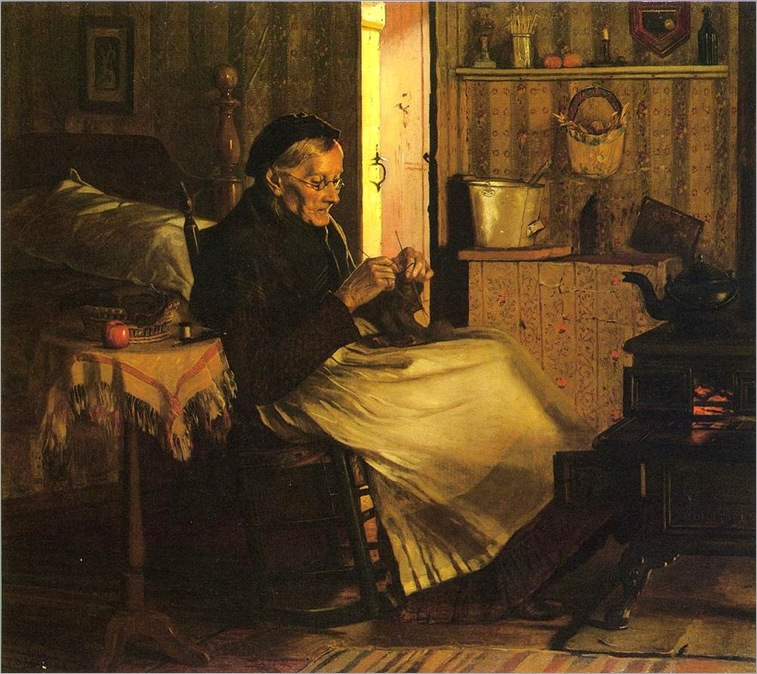 John_George_Brown_-_Home_Comfort