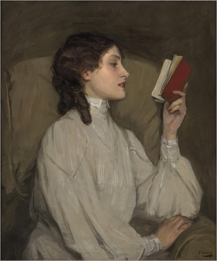 JohnLavery_Miss_Auras_the_red_book