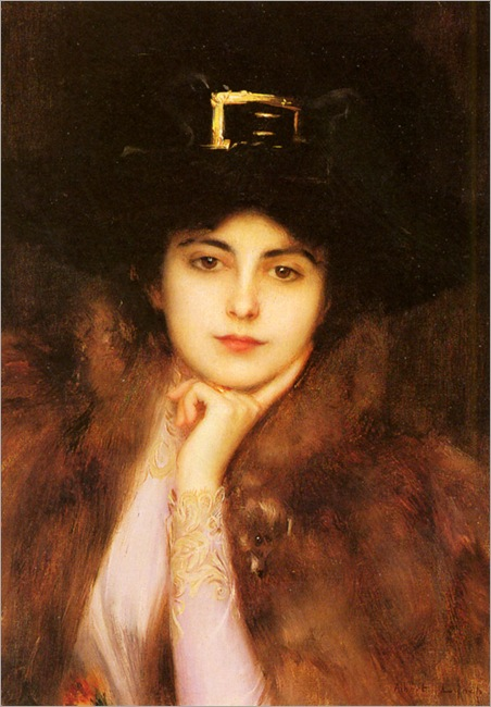 Lynch-Albert-Portrait-Of-An-Elegant-Lady