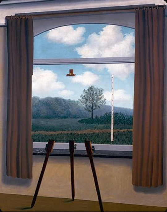 Magritte_the_human_condition