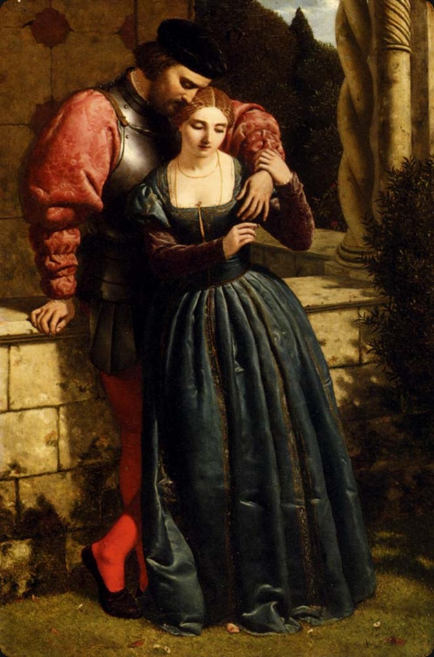 the_betrothal-Frederick_Richard__Pickersgill