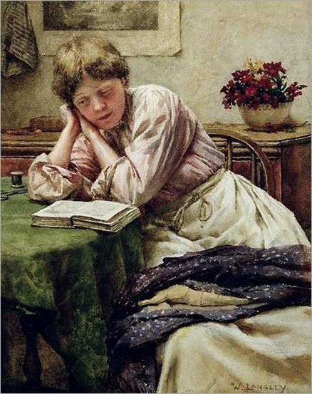 Walter_Langley_-_A_Quiet_Read