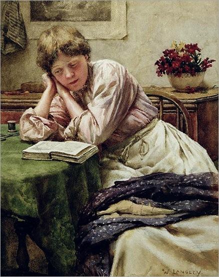 Walter_Langley_-_A_Quiet_Read