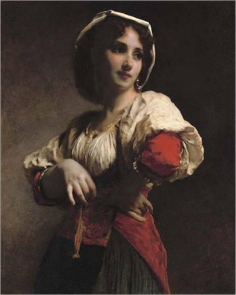 Adolphe Piot - A neopolitan beauty