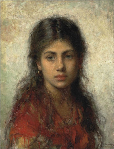Alexei_Harlamoff_-_Girl_with_a_red_shawl