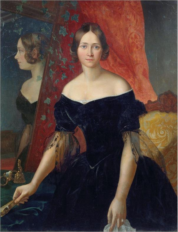 Apollon_Mokritsky_Zhensky_Portret_1841