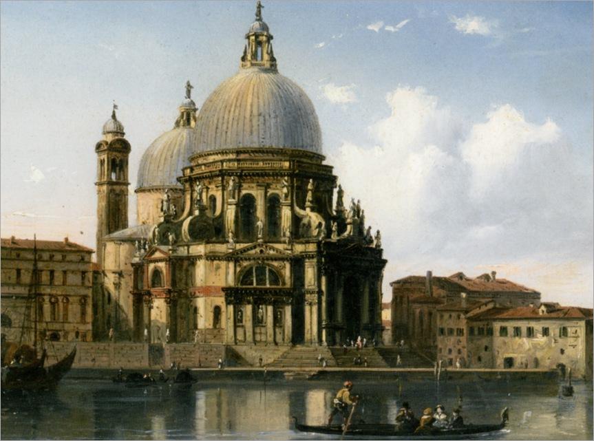 Bossoli_Carlo_Santa_Maria_della_Salute_Venice