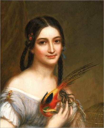 Charles Bird King (American painter, 1785–1862) Miss Satterlen (2)