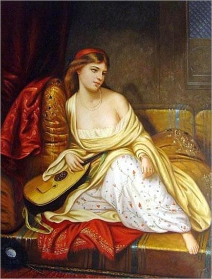 Charles Wynne Nicholls (Irish artist, 1831-1903) The Light of the Harem