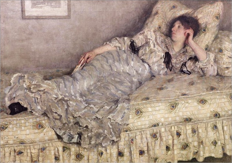 Emanuel Phillips Fox (1865-1915) Le Repose 1909