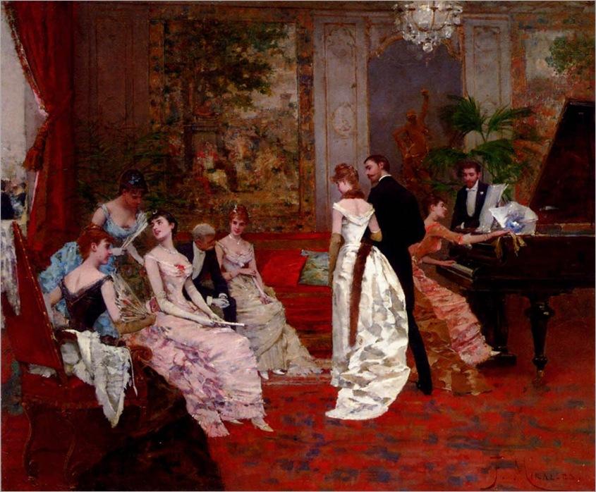 francisco-miralles-1848-1901-the-recital1