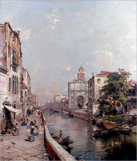 FranzRichardUnterberger_rio_st._geronimo,_venezia