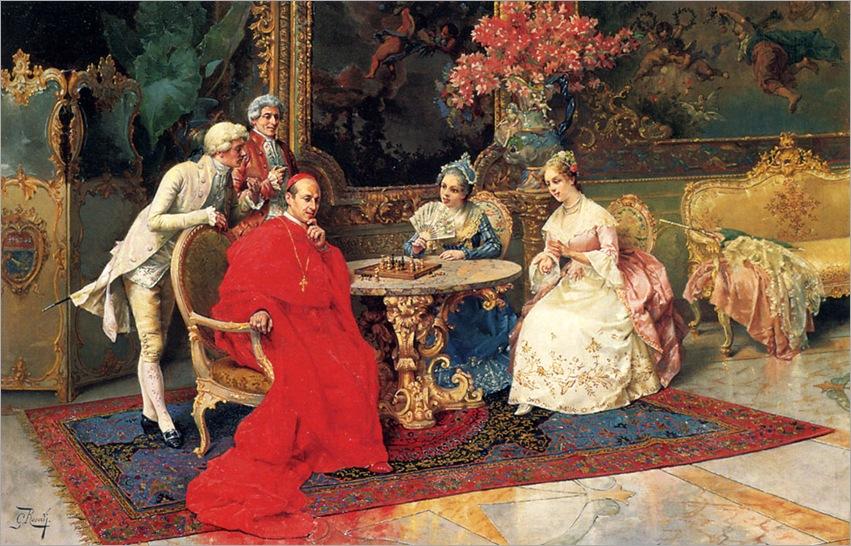 GiulioRosati_the_chess_players