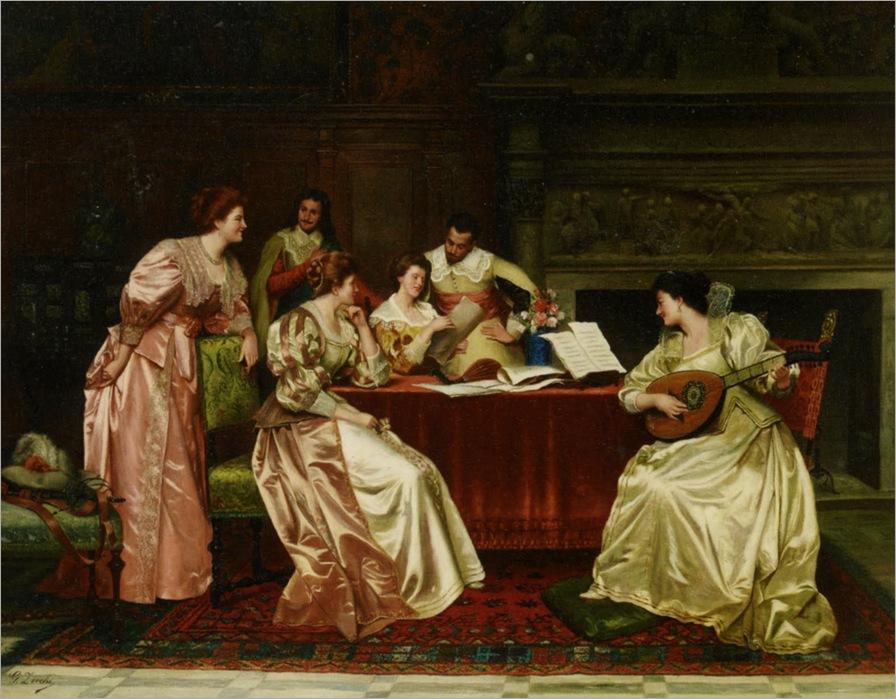 Guglielmo Zoochi (1874Zocchi_Guglielmo_A_Musical_Evening
