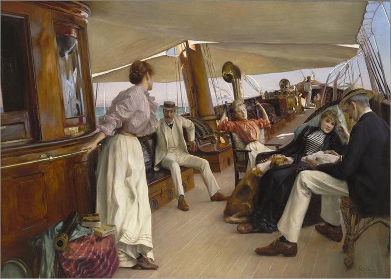 "Julius_LeBlanc_Stewart_-_On_the_Yacht""Namouna"",_Venice"
