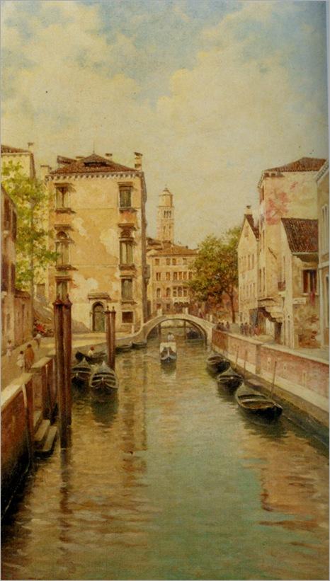 Senet_Rafael_A_Canal_in_Venice
