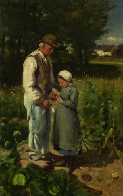 Stott_Edward_In_the_Fields_1882