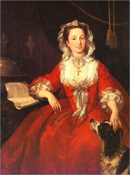 William Hogarth (1697-1764) Miss Mary Edwards, 1742