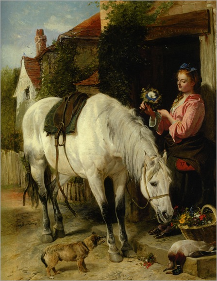 Ansdell_Richard_The_Gardeners_Daughter