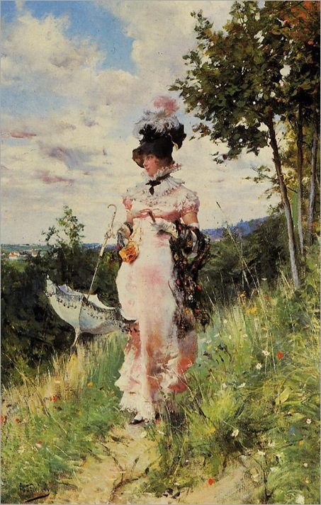 Boldini-Giovanni-The-Summer-Stroll