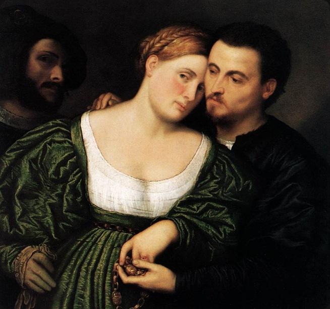 Bordone, Paris - The Venetian Lovers, 1525