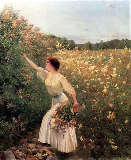 Brouillet_Pierre_Andre_Picking_Flowers