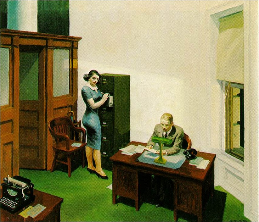 hopper_office-night