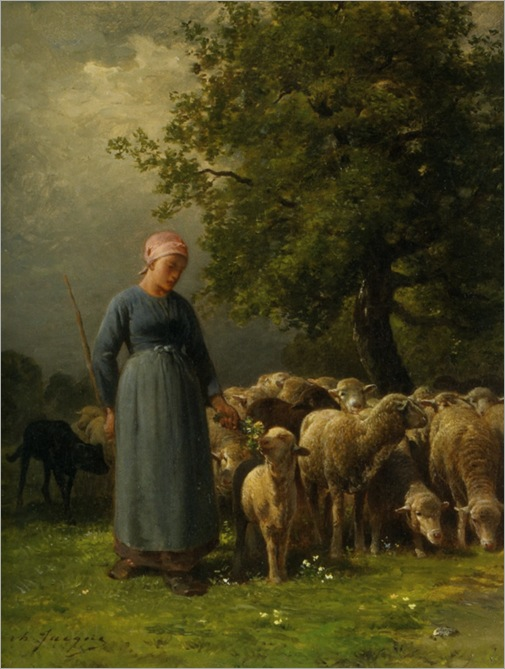 Jacque_Charles_Emile_The_Missing_Flock