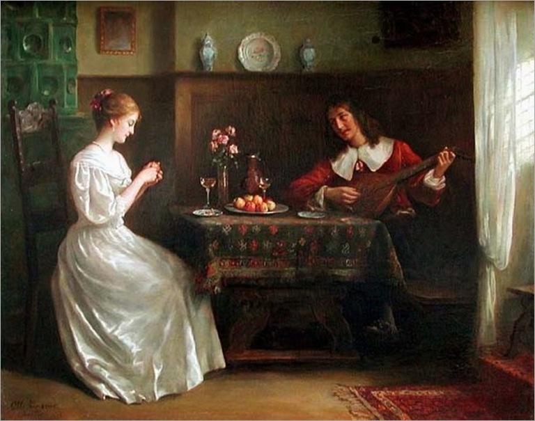 Lingner, Otto Theodore Gustav (1856-) - Serenade
