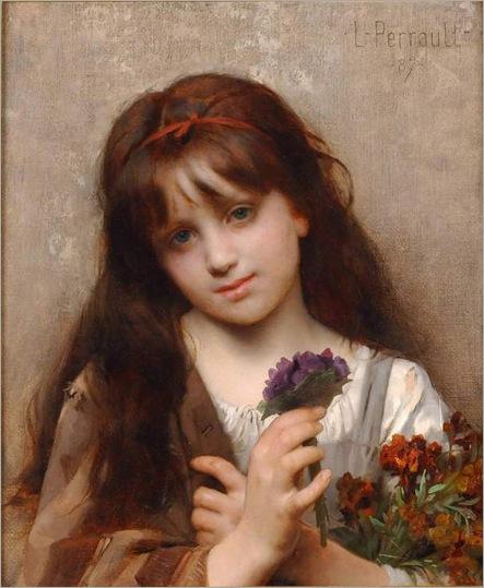 Perrault_Leon_The_Flower_Vendor