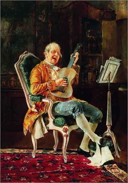 Schmutzler, Leopold (1864-1941) - The Musician